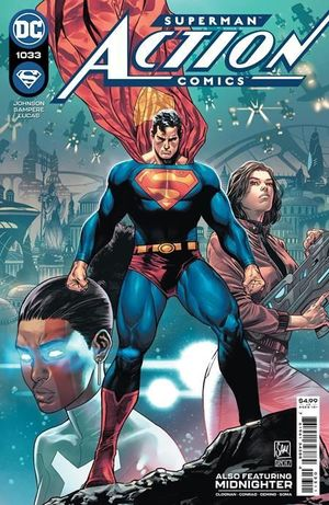 ACTION COMICS #1033 CVR A DANIEL SAMPERE