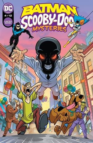 BATMAN AND SCOOBY-DOO MYSTERIES (2021) #4