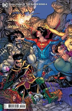 CHALLENGE OF THE SUPER SONS (2021) #4B