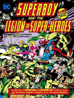 SUPERBOY AND THE LEGION OF SUPER-HEROES TABLOID HC (2021)