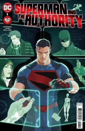 SUPERMAN AND THE AUTHORITY (2021) #1