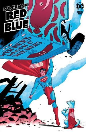 SUPERMAN RED AND BLUE (2021) #5