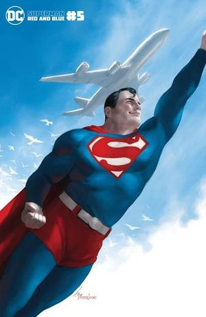 SUPERMAN RED AND BLUE (2021) #5B