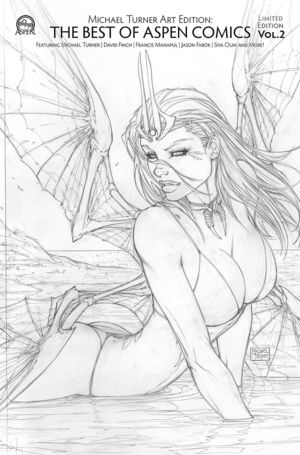 MICHAEL TURNER ART EDTION BEST OF ASPEN COMICS VOL 02 CVR B