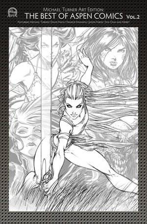 TURNER ART EDTION BEST OF ASPEN COMICS VOL 02 CVR A