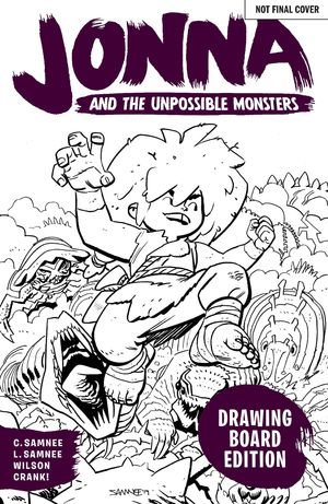 JONNA AND THE UNPOSSIBLE MONSTERS DRAWING BOARD ED #1