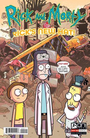 RICK AND MORTY RICKS NEW HAT (2021) #2