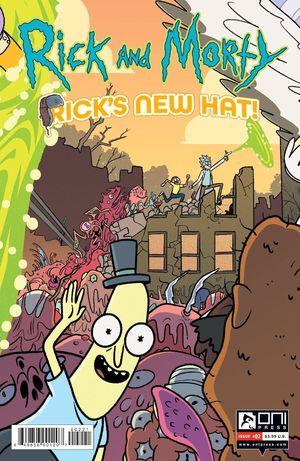 RICK AND MORTY RICKS NEW HAT (2021) #2B