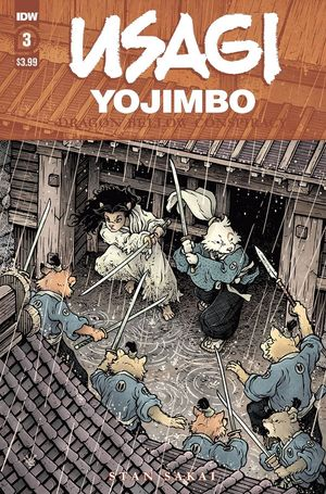 USAGI YOJIMBO DRAGON BELLOW CONSPIRACY (2021) #3