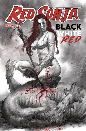 RED SONJA BLACK WHITE RED (2021) #2