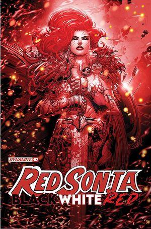 RED SONJA BLACK WHITE RED (2021) #2 B