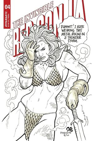 INVINCIBLE RED SONJA (2021) #4 D