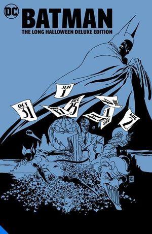 BATMAN THE LONG HALLOWEEN DELUXE EDITION HC #1