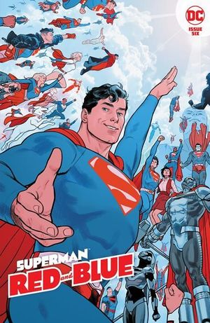 SUPERMAN RED AND BLUE (2021) #6