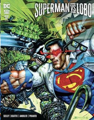 SUPERMAN VS LOBO (2021) #1B