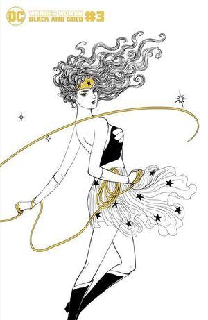 WONDER WOMAN BLACK & GOLD (2021) #3 1:25