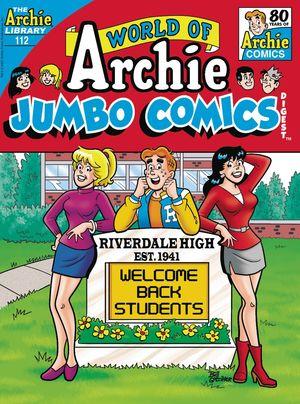 WORLD OF ARCHIE JUMBO COMICS DIGEST #112