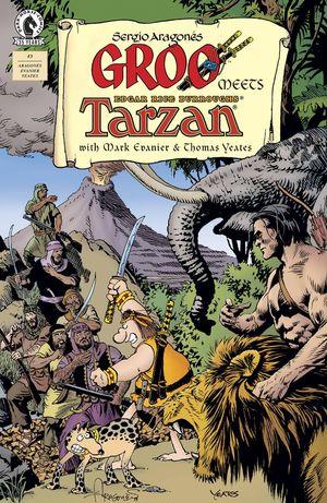 GROO MEETS TARZAN (2021) #3