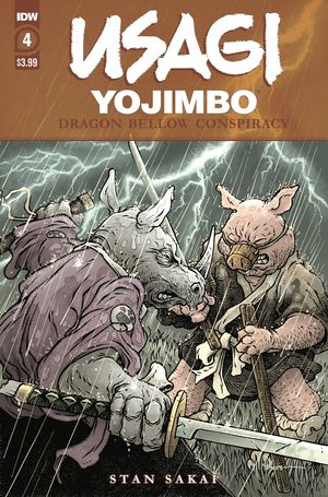 USAGI YOJIMBO DRAGON BELLOW CONSPIRACY (2021) #4
