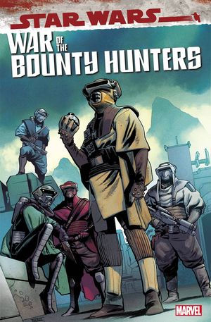 STAR WARS WAR BOUNTY HUNTERS BOUSHH (2021) #1