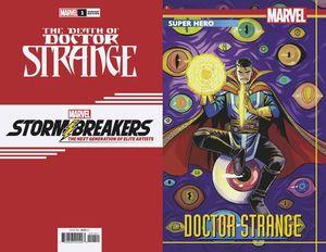 DEATH OF DOCTOR STRANGE (2021) #1 BUSTOS