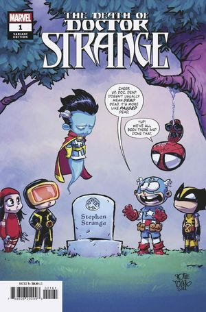 DEATH OF DOCTOR STRANGE (2021) #1 YOUNG