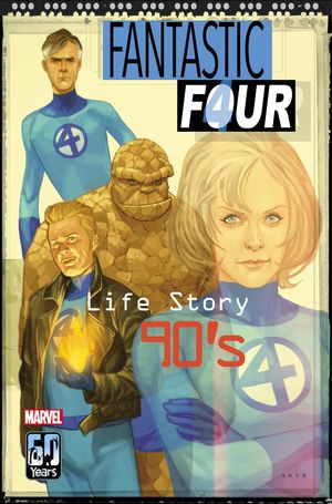 FANTASTIC FOUR LIFE STORY (2021) #4 NOTO