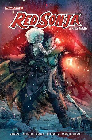 RED SONJA (2021) #1 B