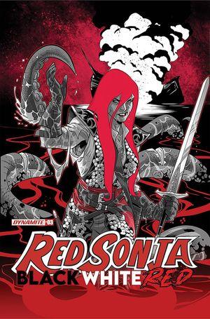 RED SONJA BLACK WHITE RED (2021) #3 B