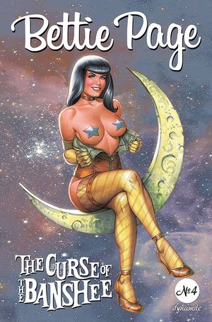 BETTIE PAGE & CURSE OF THE BANSHEE (2021) #4 B