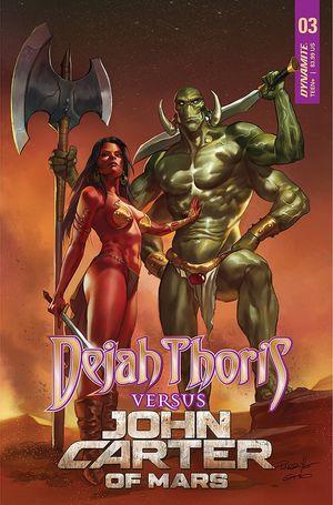 DEJAH THORIS VS JOHN CARTER OF MARS (2021) #3