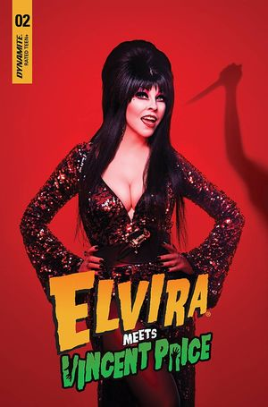 ELVIRA MEETS VINCENT PRICE (2021) #2 D