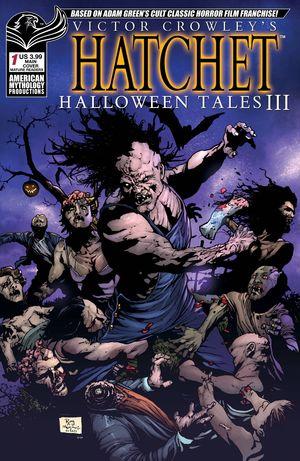 VICTOR CROWLEY HATCHET HALLOWEEN III (2021) #1