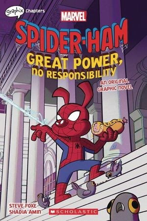 SPIDER HAM GREAT POWER NO RESPONSIBILITY GN #1