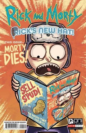 RICK AND MORTY RICKS NEW HAT (2021) #4