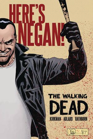 WALKING DEAD HERES NEGAN HC #1