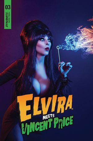 ELVIRA MEETS VINCENT PRICE (2021) #3 PHOT