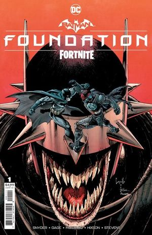 BATMAN FORTNITE FOUNDATION (2021) #1