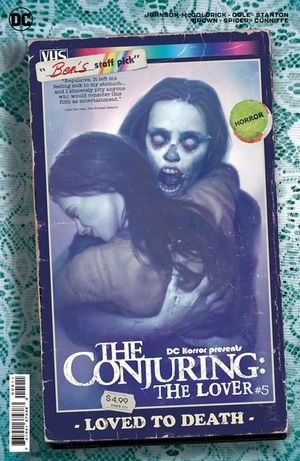 DC HORROR PRESENTS THE CONJURING THE LOVER (2021) #5B