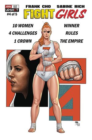 FIGHT GIRLS (2021) #4