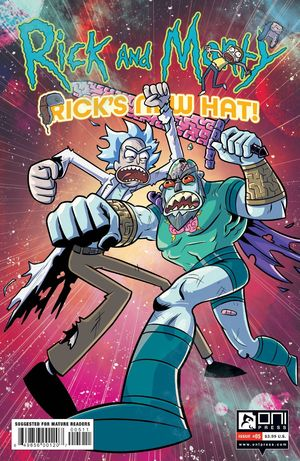RICK AND MORTY RICKS NEW HAT (2021) #5