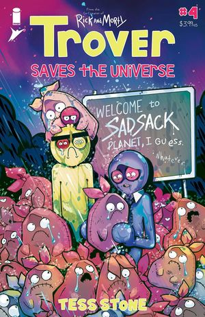 TROVER SAVES THE UNIVERSE (2021) #4