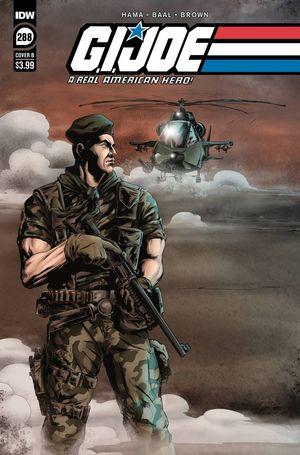 GI JOE A REAL AMERICAN HERO #288 CVR B BAAL