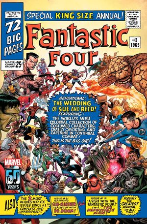 FANTASTIC FOUR ANNIVERSARY TRIBUTE (2021) #1 CHEUNG