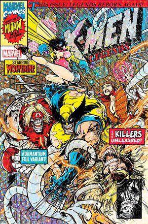 X-MEN LEGENDS #9 ANDREWS VAR