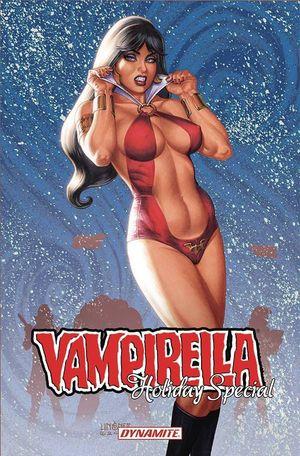 VAMPIRELLA 2021 HOLIDAY SP CVR A LINSNER