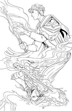 MAGIC THE GATHERING (MTG) #8 CVR C HIDDEN SPARK VAR