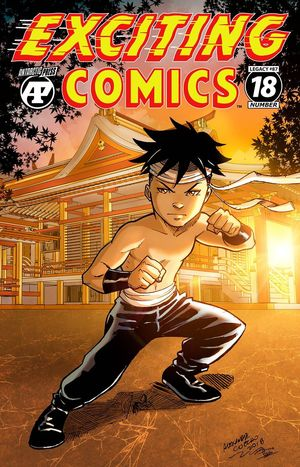 EXCITING COMICS #18
