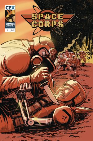 SPACE CORPS #3 (OF 3) CVR A BECK (MR)