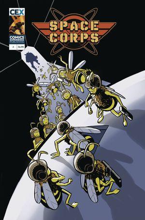SPACE CORPS #3 (OF 3) CVR B BECK (MR)